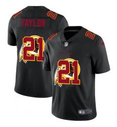 Men's Washington Redskins #21 Sean Taylor Black Nike Black Shadow Edition Limited Jersey