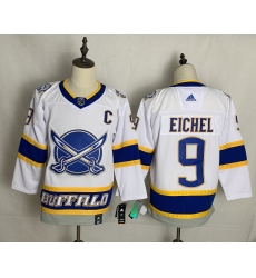 Men's Buffalo Sabres #9 Jack Eichel White 2020-21 Special Edition Replica Player Jersey