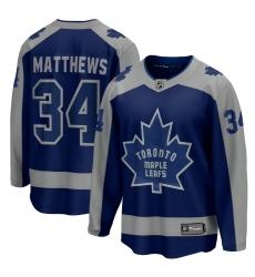 Men's Toronto Maple Leafs #34 Auston Matthews Fanatics Branded Royal 2020-21 Special Edition Breakaway Player Jersey
