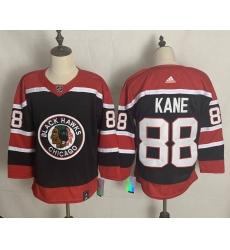 Men's Chicago Blackhawks #88 Patrick Kane Black 2020-21 Special Edition Replica Player Jersey
