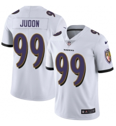 Youth Nike Baltimore Ravens #99 Matt Judon White Vapor Untouchable Limited Player NFL Jersey