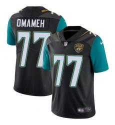 Youth Nike Jacksonville Jaguars #77 Patrick Omameh Black Alternate Vapor Untouchable Limited Player NFL Jersey