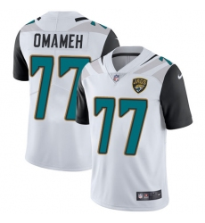 Youth Nike Jacksonville Jaguars #77 Patrick Omameh White Vapor Untouchable Limited Player NFL Jersey