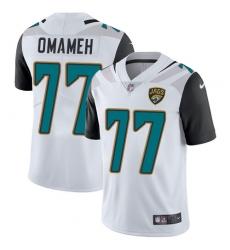 Youth Nike Jacksonville Jaguars #77 Patrick Omameh White Vapor Untouchable Limited Player NFL Jersey