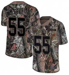 Youth Nike Jacksonville Jaguars #55 Lerentee McCray Camo Rush Realtree Limited NFL Jersey