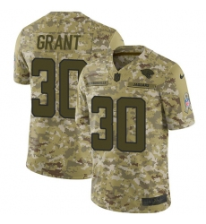 Youth Nike Jacksonville Jaguars #30 Corey Grant Limited Camo 2018 Salute to Service NFL Jersey