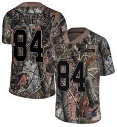 Men's Nike Jacksonville Jaguars #84 Keelan Cole Camo Rush Realtree Limited NFL Jersey