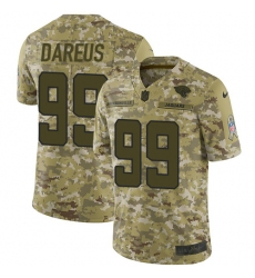 Youth Nike Jacksonville Jaguars #99 Marcell Dareus Limited Camo 2018 Salute to Service NFL Jersey
