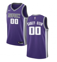 Youth Nike Sacramento Kings #0 Willie Cauley-Stein Authentic Purple Road NBA Jersey - Icon Edition