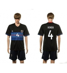 Japan #4 Honda Home Soccer Country Jersey