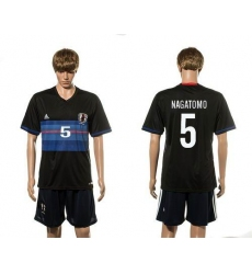 Japan #5 Nagatomo Home Soccer Country Jersey