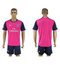 Hamburg Blank Away Soccer Club Jersey