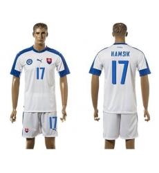 Slovakia #17 Hamsik Home Soccer Country Jersey