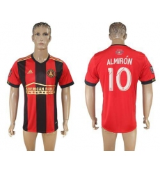 Atlanta United FC #10 Almiron Home Soccer Club Jersey