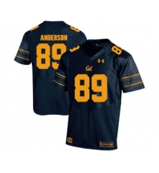 California Golden Bears 89 Stephen Anderson Navy College Football Jersey