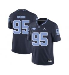 North Carolina Tar Heels 95 Kareem Martin Black College Football Jersey