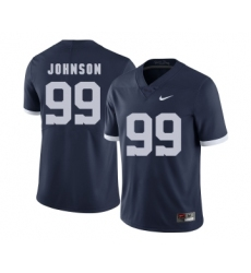 Penn State Nittany Lions 99 Austin Johnson Navy College Football Jersey
