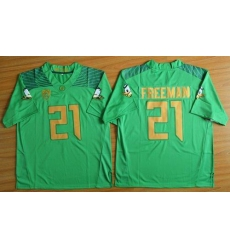 Oregon Ducks #21 Royce Freeman Green Limited Stitched NCAA Jersey