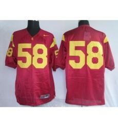 USC Trojans 58 red Jerseys