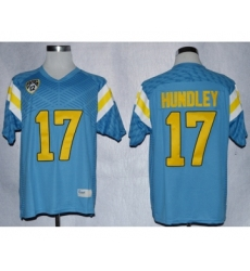 UCLA Bruins 17 Brett Hundley L.Blue College Jerseys