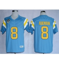 UCLA Bruins 8 Aikman L.Blue College Jerseys