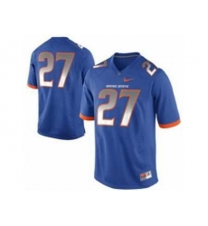 Boise State Broncos 27# Jay Ajayi Blue College Football Nike NCAA Jerseys