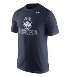UConn Huskies Nike Logo T-Shirt Navy Blue