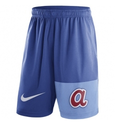 MLB Men's Atlanta Braves Nike Royal Cooperstown Collection Dry Fly Shorts