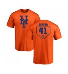 MLB Nike New York Mets #41 Tom Seaver Orange RBI T-Shirt