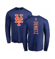 MLB Nike New York Mets #45 Tug McGraw Ash Backer T-Shirt