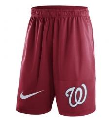 MLB Men's Washington Nationals Nike Red Dry Fly Shorts