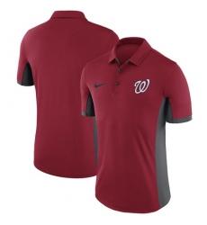 MLB Men's Washington Nationals Nike Red Franchise Polo T-Shirt