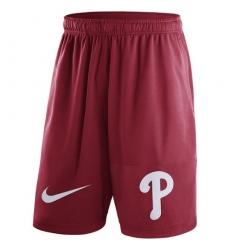 MLB Men's Philadelphia Phillies Nike Red Dry Fly Shorts