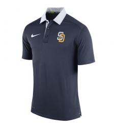 MLB Men's San Diego Padres Nike Navy Authentic Collection Dri-FIT Elite Polo