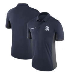 MLB Men's San Diego Padres Nike Navy Franchise Polo T-Shirt