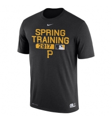 MLB Men's Pittsburgh Pirates Nike Black Authentic Collection Legend Team Issue Performance T-Shirt