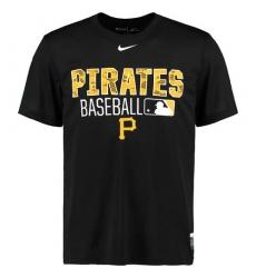 MLB Pittsburgh Pirates Nike 2016 AC Legend Team Issue 1.6 T-Shirt - Black