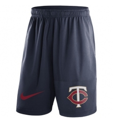 MLB Men's Minnesota Twins Nike Navy Dry Fly Shorts