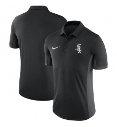 MLB Men's Chicago White Sox Nike Black Franchise Polo T-Shirt