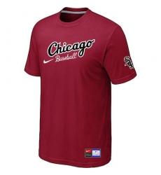 MLB Men's Chicago White Sox Nike Practice T-Shirt - Red
