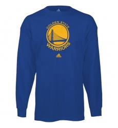 NBA Men's Golden State Warriors Royal Blue Prime Logo Long Sleeve T-shirt