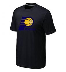 NBA Men's Indiana Pacers Big & Tall Primary Logo T-Shirt - Black