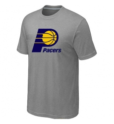 NBA Men's Indiana Pacers Big & Tall Primary Logo T-Shirt - Grey