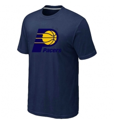 NBA Men's Indiana Pacers Big & Tall Primary Logo T-Shirt - Navy