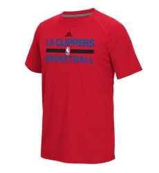 NBA Men's Los Angeles Clippers Adidas On-Court Climalite Ultimate T-Shirt - Red