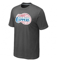 NBA Men's Los Angeles Clippers Big & Tall Primary Logo T-Shirt - Dark Grey