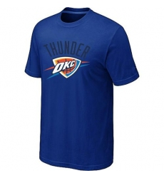 NBA Men's Oklahoma City Thunder Big & Tall Primary Logo T-Shirt - Blue