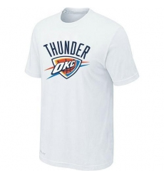NBA Men's Oklahoma City Thunder Big & Tall Primary Logo T-Shirt - White