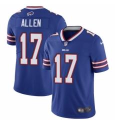 Youth Nike Buffalo Bills #17 Josh Allen Royal Blue Team Color Vapor Untouchable Limited Player NFL Jersey