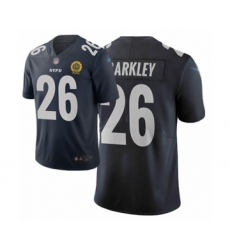 Youth New York Giants #26 Saquon Barkley Limited Black City Edition Football Jersey